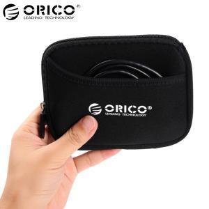 オリコ 2.5 HDD/SSD ボックスバッグケースポータブルハードドライブバッグ外部ポータブル H...