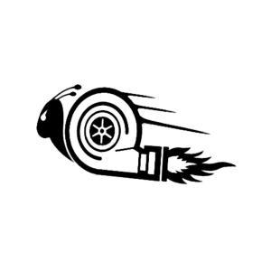 15*7.5センチスタイリッシュなカーステッカーdub driftレースカースタイリングターボカタツ...
