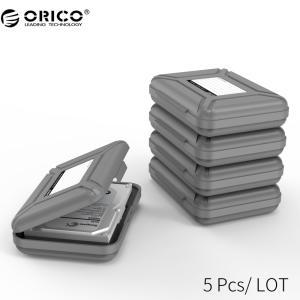 オリコphx-5s 5ベイ3.5インチ保護ボックス/収納ケース用ハードドライブ(hdd)またはsdd...