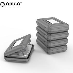 オリコ5ベイ3.5インチ保護ボックス/収納ケース用ハードドライブ(hdd)またはsddで防水機能-5...