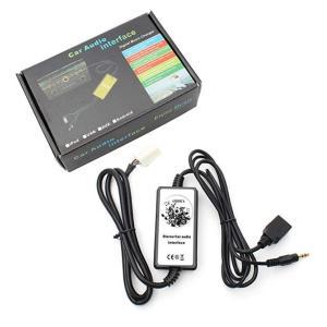 全国送料無料 カー用品 オーディオ Amooca オーディオ入力補助 Aux アダプター 3 5 323 1999-2003年マツダ ミアータ MX5 MPV RX8 USBSD MP3 プレーヤー|yuuuuuu26