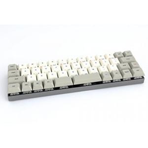 全国送料無料 パソコン PC キーボード 渦コア 40% - 灰色 CNC ケース - PBT DSA キートップ - チェリー Mx ブラウン [CNC アルミニウム筐体]|yuuuuuu26