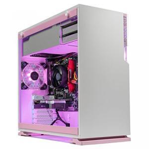 全国送料無料 パソコン ビデオカード [限定ピンク]SkyTech 金星デスクトップ ゲーミング パソコン PC (Ryzen 3 1200、GTX 1050 Ti 4 GB、8 GB DDR4 1 TB|yuuuuuu26