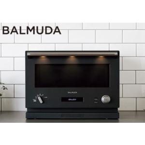 翌日発送 バルミューダ BALMUDA オーブンレンジ K04A-BK ブラック|yuuuuuu26