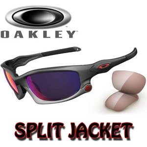 USAモデル オークリー(OAKLEY)スプリット ジャケットSPLIT JACKET OO938-06 偏光レンズ|yuuyuusports