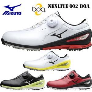 日本正規品 ミズノ ネクスライト 002 ボア スパイクレスゴルフシューズ NEX LITE 002 BOA (51GM1526)|yuuyuusports