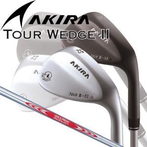 日本正規品 アキラ ツアー ウエッジ2 N.S.PRO MODUS3 スチールシャフト 【Akira Tour Wedge II】 【モーダス】|yuuyuusports