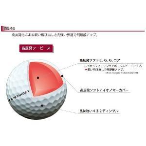 2015年 日本仕様 スリクソン SRIXON ディスタンス DISTANCE 2ピース ゴルフボール 1ダース(12個入)|yuuyuusports|02