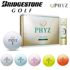 日本正規品 ブリヂストンゴルフ ファイズ ゴルフボール 1ダース(12球入)【2015年モデル】【BRIDGESTONE GOLF PHYZ】|yuuyuusports