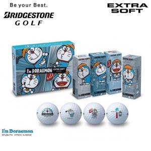 日本正規品 ブリヂストン ゴルフ ドラえもん エクストラソフト ゴルフボール 1ダース(12球入)【数量限定モデル】【BRIDGESTONE GOLF】【I'm Doraemon EXTRA SO