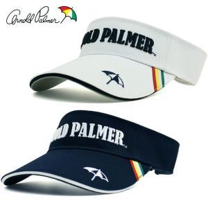 アーノルドパーマー メンズ サンバイザー  APSV-01 バイザー 【Arnold Palmer】【ラウンド用品】【ゴルフ用品】【APSV01】|yuuyuusports