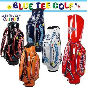 即納 ブルーティーゴルフ エナメルキャディバッグ 9型 キャディバッグ BTG-CB005 【BLUE TEE GOLF】【CB005】【BTG-005】【キャディバッグ】|yuuyuusports