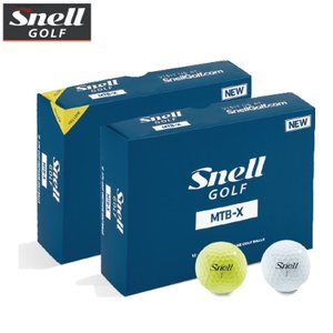 Snell GOLF スネルゴルフ MTB-X ゴルフボール 1ダース(12球入) 【SNELL GOLF】【MTB X】【mtb-x】|yuuyuusports