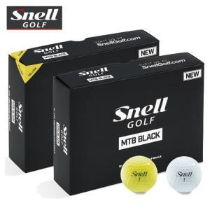 USAモデル Snell GOLF スネルゴルフ MTB BLACK ゴルフボール 1ダース(12球入) 【SNELL GOLF】【2019年モデル】|yuuyuusports