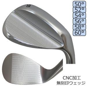 軟鉄鍛造 無刻印 ウェッジ ノー ロゴ スチールシャフト CNC加工 オリジナル 軟鉄(S20C)/...