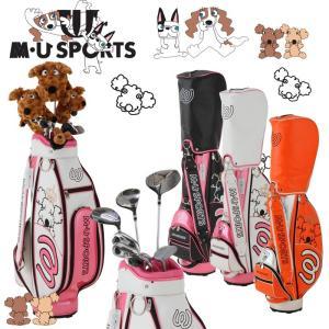 レディース MUスポーツ MU SPORTS ゴルフ ハーフ...