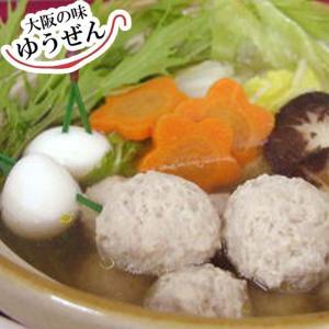 肉 鶏肉 惣菜 冷凍 無添加 鶏のつみれ 300g お鍋 煮込み おかず お試し|yuuzen-hb
