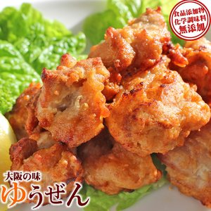肉 鶏肉 惣菜 冷凍 無添加 鶏もも から揚げ 500g 唐揚げ お弁当 おかず グルメ|yuuzen-hb