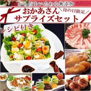 母の日 ギフト 2021 肉 惣菜 セット 無添加 冷凍 おかあさんサプライズセット ギフト 期間限定 中身が見える インスタ映え 手作り|yuuzen-hb