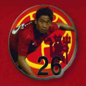 Manchester United コレクションPINS 3:KAGAWA(香川真司) システムサービス ガチャポン yuyou