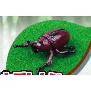 HG 昆虫(Stag Beetle & Beetle) 2:カブトムシ_ブラウン ビーム ガチャポン|yuyou