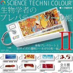 サイエンステクニカラー 生物学者のプレパラートシール帳2 全8種セット いきもん ガチャポン|yuyou