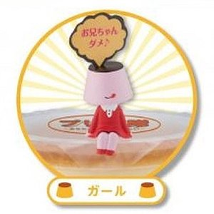 プリン隊 -あなたのおやつを守りたい- 5:ガール -セール品- KADOKAWA ガチャポン ガチャガチャ ガシャポン|yuyou