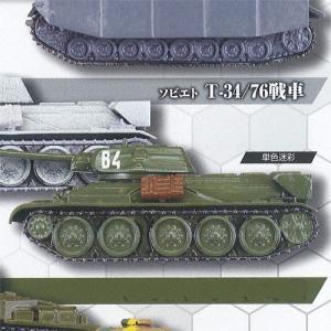 ホビーガチャ 陸上模型 戦車コレクション 弐 3:ソビエト T-34/76戦車(単色迷彩) タカラトミーアーツ ガチャポン ガチャガチャ ガシャポン|yuyou