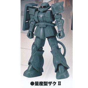 機動戦士 ガンダム ジ オリジン ガシャプラ モビルスーツ 01 2:量産型ザク 2 バンダイ ガチャポン ガチャガチャ ガシャポン|yuyou