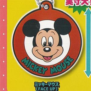 ディズニー ミッキー&フレンズ ジャパニーズ レトロ ラバーマスコット 4:ミッキーマウス(FACE...