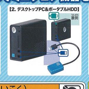 手のひら PC & サプライ 2:デスクトップPC&ポータブルHDD エポック社 ガチャポン ガチャガチャ ガシャポン yuyou