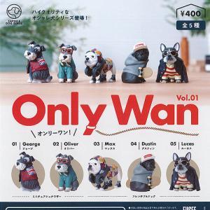 オンリー ワン Only Wan Vol.01 全5種セット 12月再入荷予約 FUSEE ガチャポン ガチャガチャ ガシャポン|yuyou