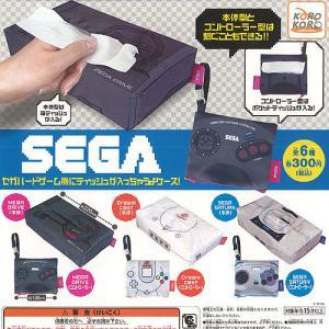 セガ ハード ゲーム機に ティッシュが 入っちゃうよ ケース 全6種+ディスプレイ台紙セット アイピーフォー ガチャポン ガチャガチャ ガシャポン yuyou