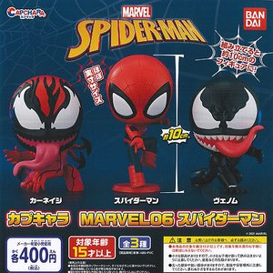 カプキャラ マーベル 06 スパイダーマン 全3種セット 1月予約 バンダイ ガチャポン ガチャガチャ ガシャポン|yuyou