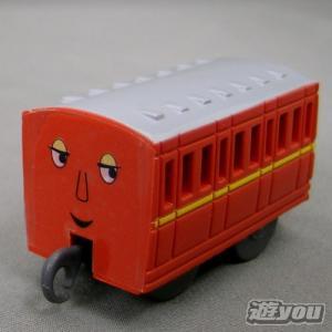 カプセルプラレール きかんしゃトーマス 198:赤いろの客車 タカラトミーアーツ ガチャポン ガチャガチャ ガシャポン yuyou