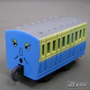 カプセルプラレール きかんしゃトーマス 200:青いろの客車 タカラトミーアーツ ガチャポン ガチャガチャ ガシャポン|yuyou