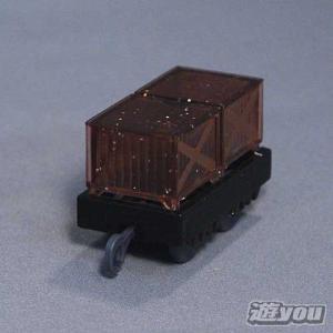 カプセルプラレール きかんしゃトーマス 291:荷物貨車(キラキラ) タカラトミーアーツ ガチャポン ガチャガチャ ガシャポン yuyou