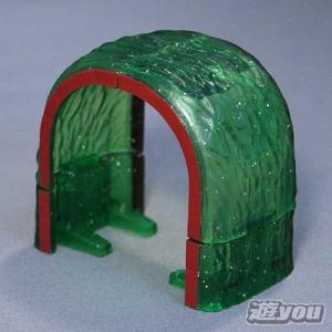 カプセルプラレール きかんしゃトーマス 295:トンネル4(キラキラ) タカラトミーアーツ ガチャポン ガチャガチャ ガシャポン yuyou