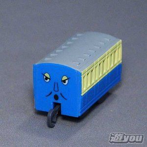 カプセルプラレール きかんしゃトーマス 304:青いろの客車2 タカラトミーアーツ ガチャポン ガチャガチャ ガシャポン yuyou