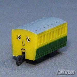 カプセルプラレール きかんしゃトーマス 319:黄いろの客車 タカラトミーアーツ ガチャポン ガチャガチャ ガシャポン|yuyou