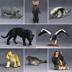 ミニチュアプラネット Vol.5 集めて広がる動物フィギュアの世界 全8種セット エイコー プライズ|yuyou