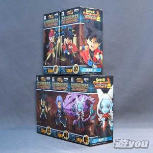 スーパードラゴンボールヒーローズ ワールドコレクタブルフィギュア 7th ANNIVERSARY 全5種セット バンプレスト プライズ yuyou