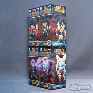スーパードラゴンボールヒーローズ ワールドコレクタブルフィギュア 7th ANNIVERSARY 4種セット バンプレスト プライズ yuyou