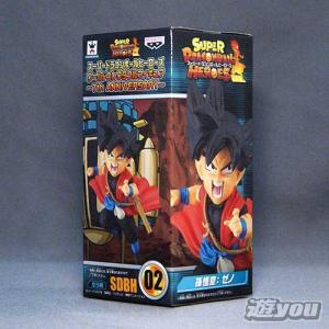 スーパードラゴンボールヒーローズ ワールドコレクタブルフィギュア 7th ANNIVERSARY SDBH02:孫悟空:ゼノ バンプレスト プライズ yuyou