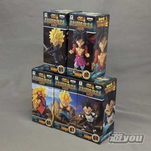 スーパードラゴンボールヒーローズ ワールドコレクタブルフィギュア vol.2 全5種セット バンプレスト プライズ|yuyou