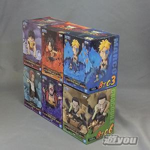 ワンピース ワールドコレクタブルフィギュア BURST 全6種セット バンプレスト プライズ|yuyou