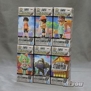劇場版 ONE PIECE STAMPEDE ワールド コレクタブル フィギュア vol.3 全6種セット バンプレスト ワンピース プライズ|yuyou