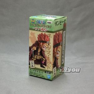 ワンピース ワールド コレクタブル フィギュア ワノ国 5 1:ユースタス・キッド バンプレスト プ...