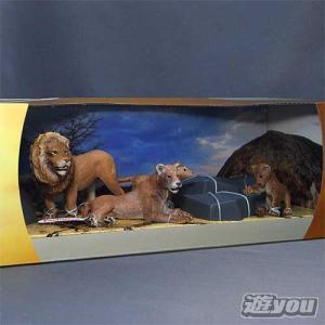 シュライヒ 動物フィギュア 41392 シーナリーパック ライオンファミリー Schleich Wild Life Safari
