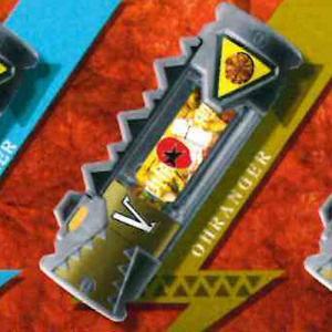 獣電戦隊キョウリュウジャー 獣電池06 V.オーレンジャー バンダイ ガチャポン